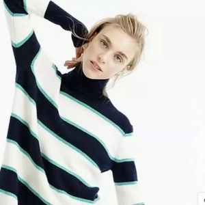 NWT J.Crew Collection Cashmere Oversized Sweater